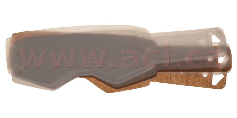 Trhačky - odhazky - strhávací slídy pro brýle SCOTT PROSPECT (10 vrstev v balení, čiré) SCOTT