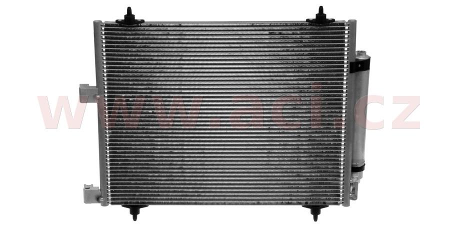 chladič klimatizace se sušičem 2.0i 16V, 2.2i 16V, 2.0JTD, 2.0HDi (jen 79kW), 2.2JTD, 2.2HDi [560*452*16]