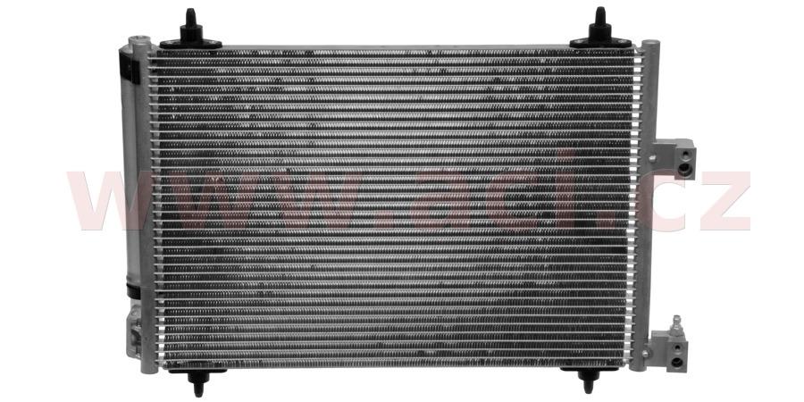 chladič klimatizace se sušičem 1.8i 16V, 2.0i 16V, 2.0i 16V HPi, 3.0i 24V, 2.0HDi, 2.2HDi ±AUT [510*368*16]