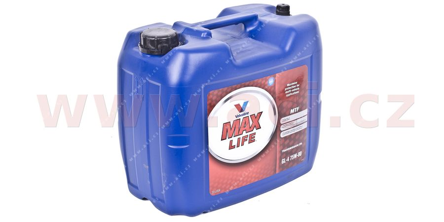 VALVOLINE GEAR OIL 75W-80, 20 l