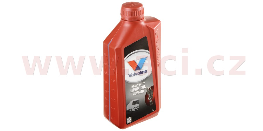 VALVOLINE Heavy Duty Gear Oil 75W-80, 1 l