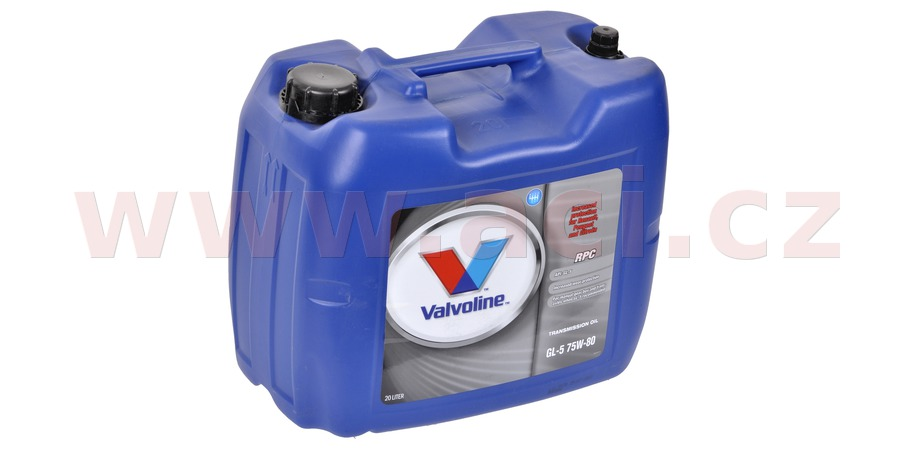 VALVOLINE Gear Oil 75W-80 RPC 20 l