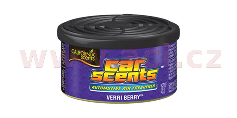 California Scents Car Scents (Borůvka) 42 g