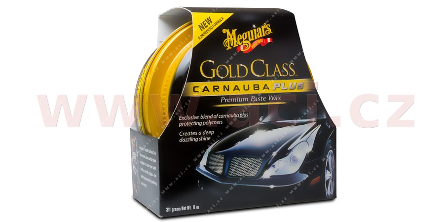 MEGUIARS Gold Class Carnauba Plus Premium paste Wax - Carnauba vosk 311 g