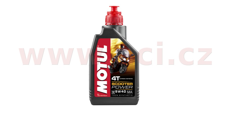 MOTUL SCOOTER POWER 4T 5W-40, 1 l