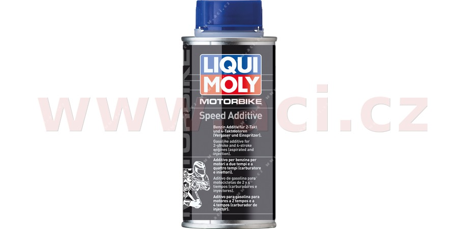 LIQUI MOLY Motorbike Speed Additiv - přísada do paliva 2T a 4T motocyklů 150 ml
