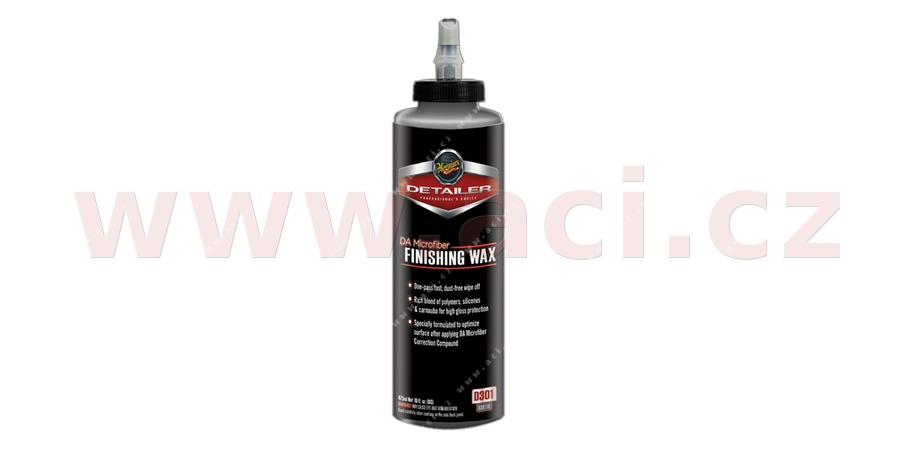 MEGUIARS DA Microfiber Finishing Wax - dokončovací vosk 473 ml