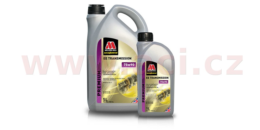 MILLERS OILS EE Transmission Oil 75W-90, 5 l