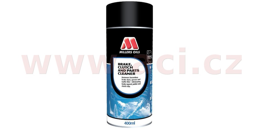 MILLERS OILS Brake and Clutch Cleaner - čistič brzd - sprej 400 ml