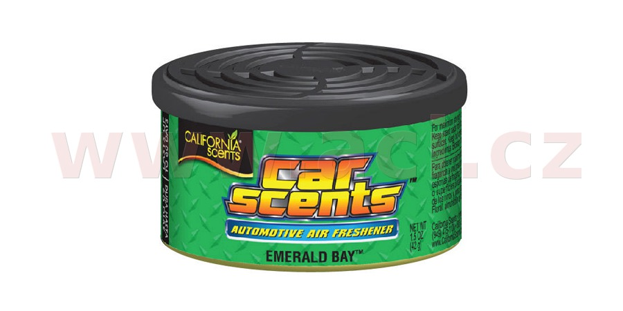 California Scents Car Scents (Smaragdová zátoka) 42 g