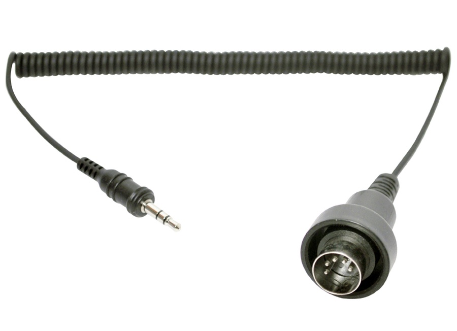 redukce pro transmiter SM-10: 5 pin DIN kabel do 3,5 mm stereo jack (Honda Goldwing 1980-), SENA