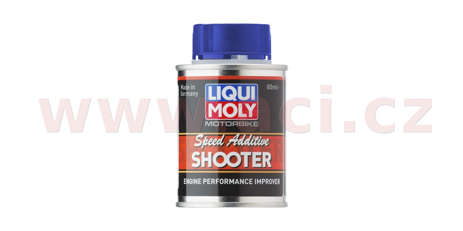 LIQUI MOLY Motorbike Speed Shooter - přísada do paliva 2T a 4T motocyklů 80 ml