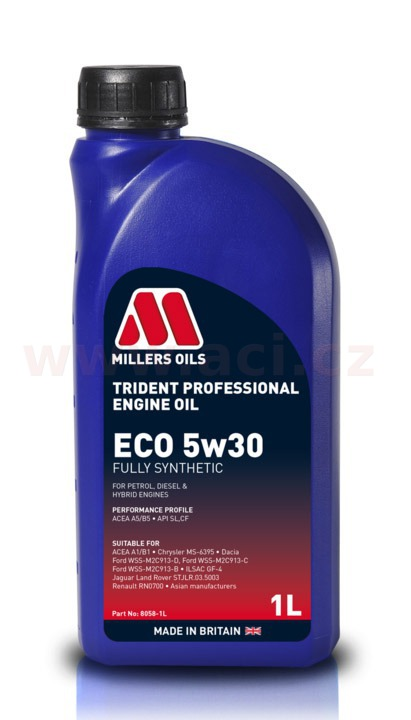 MILLERS OILS Trident Longlife Fuel Economy 5W30, 1 l